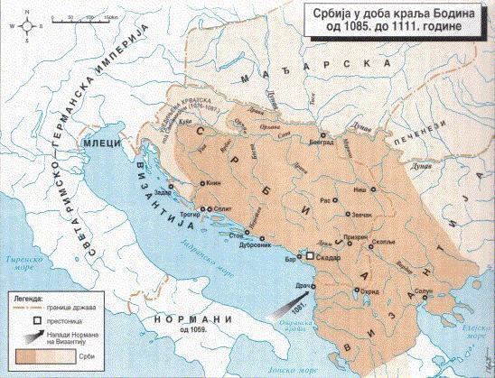 Srbija u doba kralja Bodina