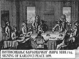 potpisivanje mira u Karlovcima